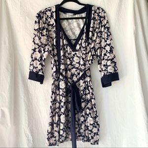 Floral Night Gown & Robe Set